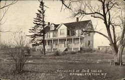 Residence of Jas. E. Snead