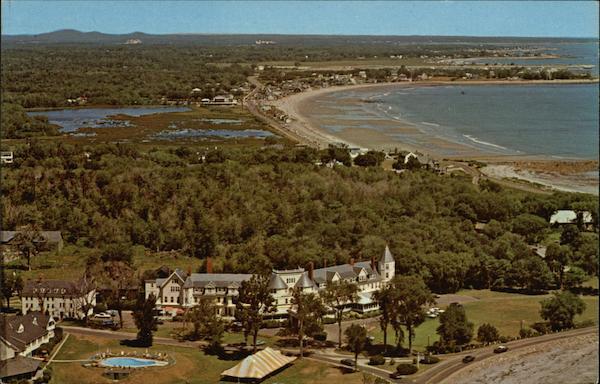 The Farragut Hotel On Ocean Rye Beach New Hampshire