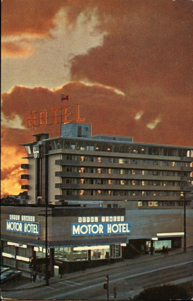 Royal Towers Motor Hotel New Westminster Canada British Columbia