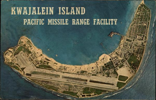 Kwajalein Island, Pacific Missile Range Facility South Pacific