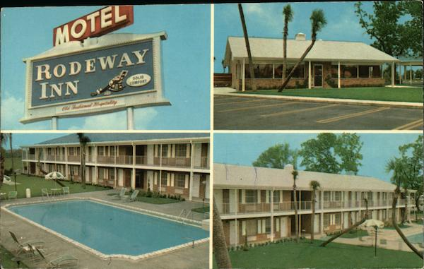 Rodeway Inns of America and Hasty House Restaurant Lake City Florida