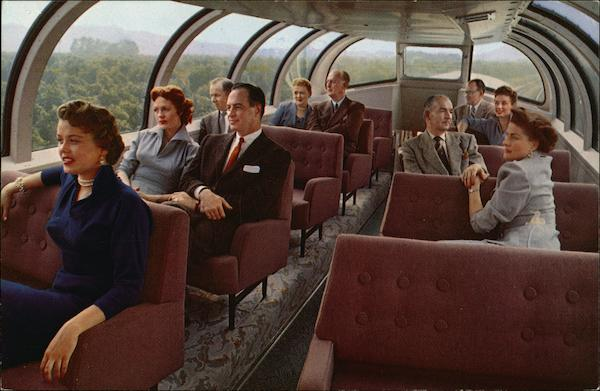 The Astra Dome Observation Lounge Trains, Railroad