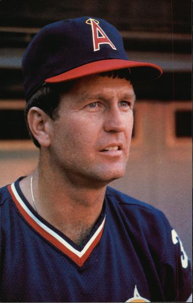 tommy john  california angels 1983 baseball