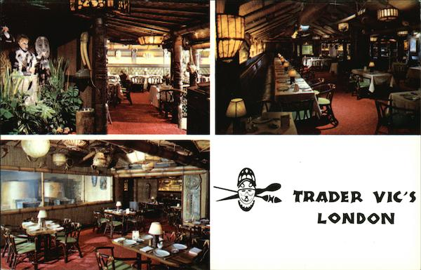 Hilton Hotel - Trader Vic's London England