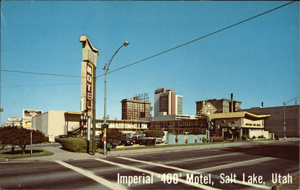 Imperial '400' Hotel Salt Lake City Utah