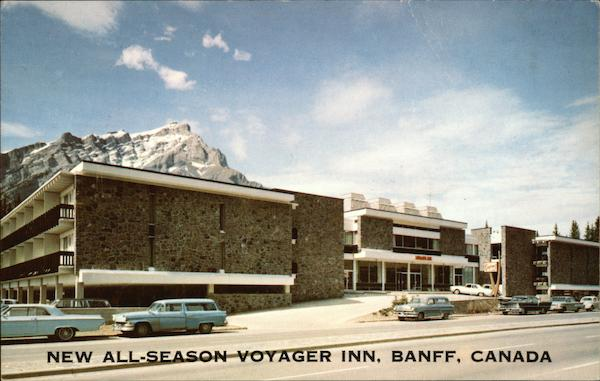 New All-Season Voyager Inn Banff Canada Misc. Canada