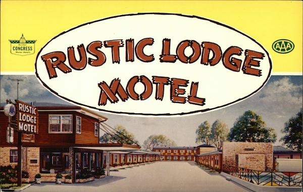 Rustic Lodge Motel New Orleans Louisiana