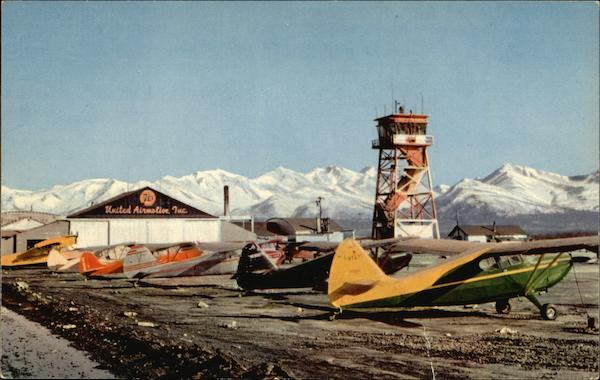 Merrill Field Anchorage Alaska Airports