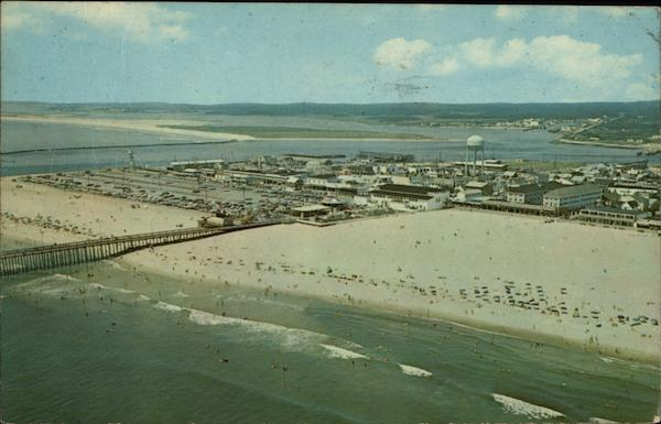 Beach and Amusement Area Ocean City Maryland