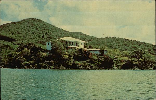 Administrator's Residence Cruz Bay Virgin Islands Caribbean Islands