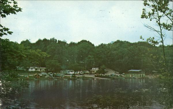 View Of Homes On Lake Mccoy Greensburg In