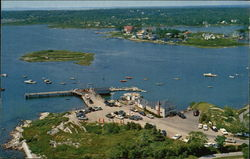 Aerial View of Cape Porpoise, Maine