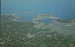 Scituate Harbor Aerial View