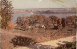 Lake Odessa from Bluff at Entrance to State Grounds