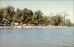 Lake Odessa - State Camp Grounds at Schaffer's Point