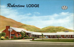 Robertson Lodge on Highway 91, North Edge of City