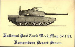 National Post Card Week, May 5-11 91 Remembers Desert Storm