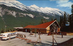 The Lower Terminal Building of the Banff Sulphur Mountain Gondola Lift