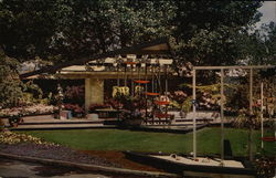 Twenty-First Annual California Spring Garden Show Exposition Building