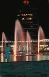 New York International Airport, Idlewild - Fountains and Arrival Building