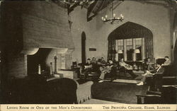Living Room in One of the Men's Dormitories