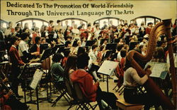 Dedicated to the Promotion of World Friendship Through the Universal Language of the Arts