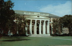 Wesleyan University - Olin Memorial Library Postcard