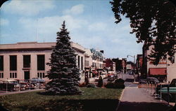 Business Section - View from Station looking up Elm Street