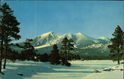 San Francisco Peaks near Flagstaff, Arizona