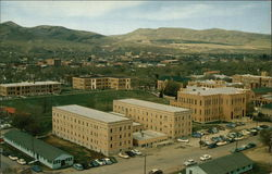 Bird's Eye View of Idaho State College Campus