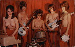 The Ladybirds - The world's first and only all-girl topless band