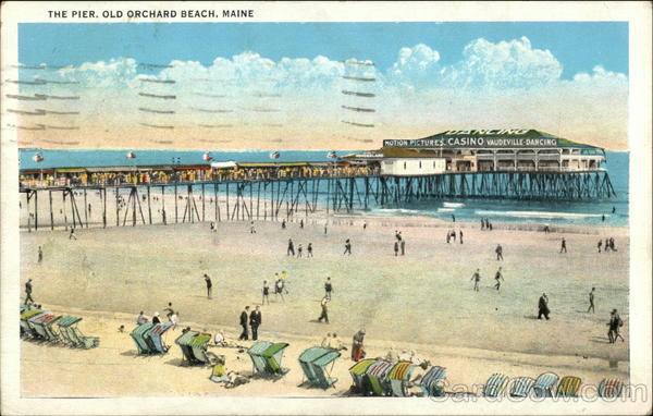 The Pier, Old Orchard Beach, Maine