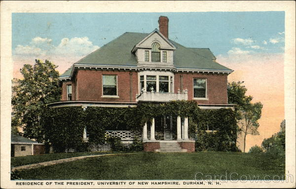 Residence of the President, University of New Hampshire Durham