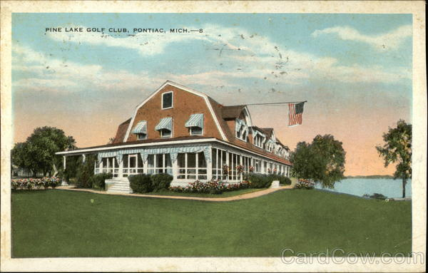 Pine Lake Golf Club Pontiac Michigan