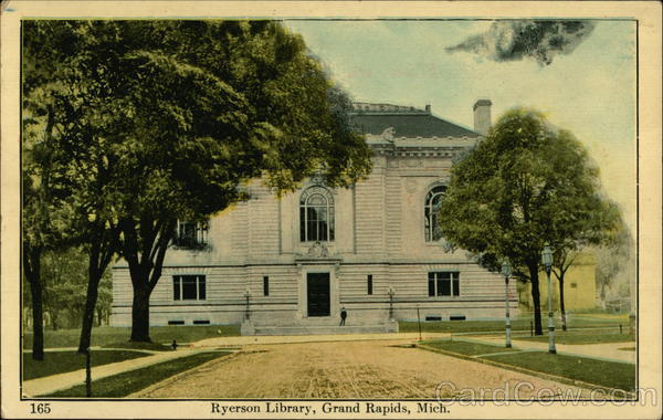 Ryerson Library Grand Rapids Michigan