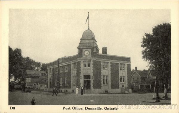 Post Office Dunnville Canada Ontario