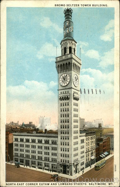 Bromo Seltzer Tower Building Baltimore Maryland