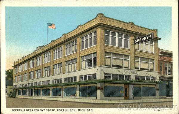 Sperry's Department Store Port Huron Michigan