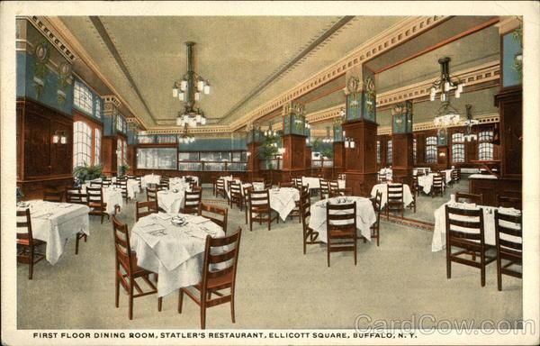 first floor dining room statler s restaurant ellicott