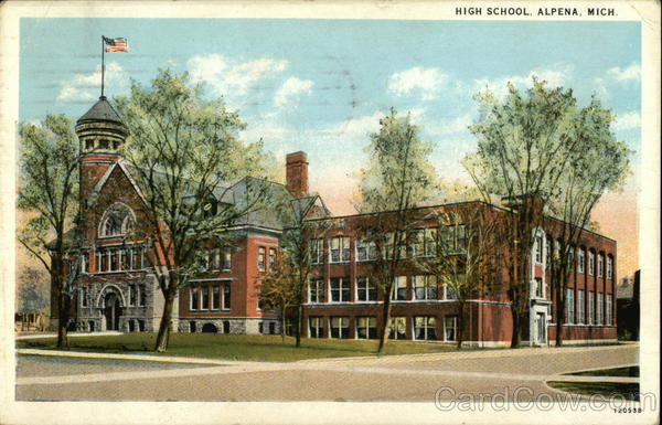 High School Alpena Michigan