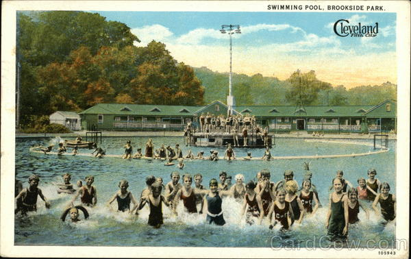 Brookside Park Swimming Pool Cleveland Oh