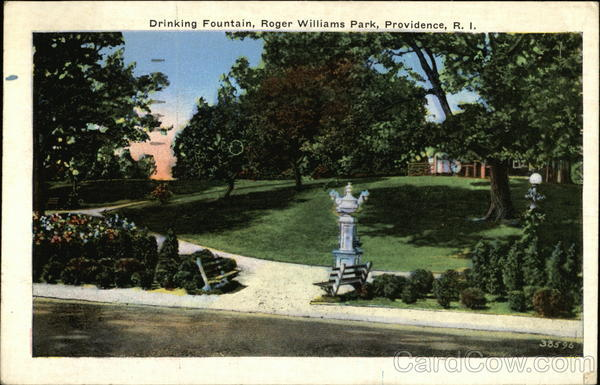 Drinking Fountain, Roger Williams Park Providence Rhode Island