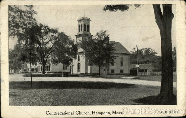 Congregational Church Hampden Massachusetts