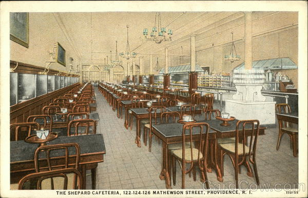 The Shepard Cafeteria, 122-124-126 Mathewson Street Providence Rhode Island