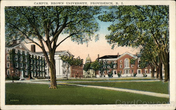 Campus, Brown University, Providence, R. I Rhode Island