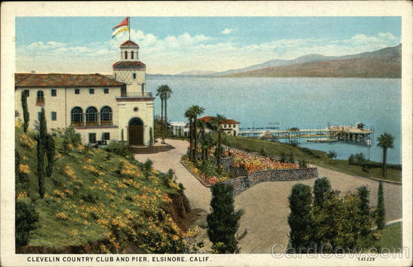 Clevelin Country Club and Pier, Elsinore, California