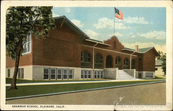 Grammar School Elsinore California