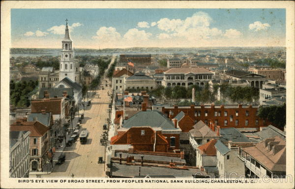 Bird S Eye View Of Broad Street From Peoples National