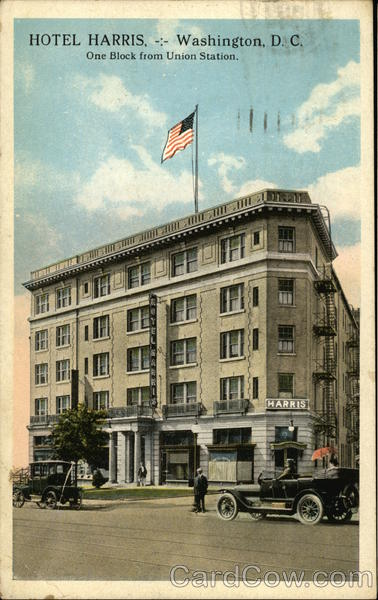 Hotel Harris - Washington, D. C.- District of Columbia