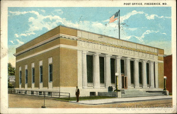 Post Office Frederick Maryland
